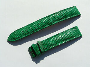 Cartier 15mm Reptil green Watch Band Strap 15/14 70/100 I904