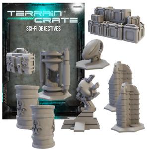 PRE-ORDER - Mantic - Terrain Crate - Sci-Fi - Sci-fi Objectives