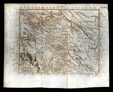 old and original engraved MAP-RUSSIA 17/18 Th.