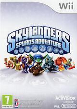Skylanders Spyro's Adventure (sans manuel) Wii Nintendo jeux jeu games 1576