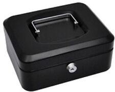 pavo Caisse à monnaie, noir, (L)150 x (P)115 x (H)80 mm