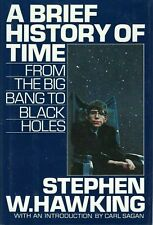 Stephen Hawking A BRIEF HISTORY OF TIME 1988 First Edition 1st Printing