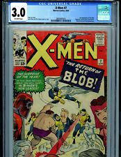 Uncanny X-Men #7 CGC 3.0 1963 Marvel Comics Amricons 1st Cerebro 2nd Blob S3