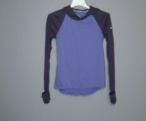 Womens Nike Running Soft Hand Dri-Fit hooded Pullover Top Size  XS 608860