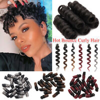 100% Natural Short Jamaican Bounce Crochet Hair Extensiosn Spring Braid as human