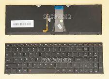 New For Lenovo flex 2 15 flex 2 15d Keyboard US Backlit Black Frame