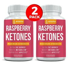 Weight Loss & Fat Burning Raspberry Ketones Dietary Supplement (2 PACK)