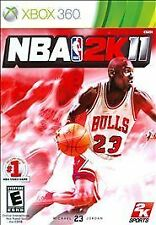 XBOX 360 NBA 2K11 Video Game Multiplayer Online Basketball Tournament