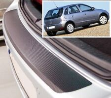 Vauxhall- Opel Corsa C 3/5 door  - Carbon Style rear Bumper Protector
