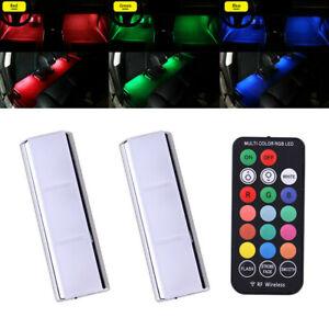 RGB LED Car Interior Accessories Floor Decorative Atmosphere Lamp Ambient Lights