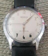 Benrus vintage watch, self-winding