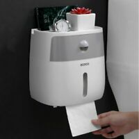Waterproof Toilet Paper Holders For Bathroom Creative Double Layer Tissue Box