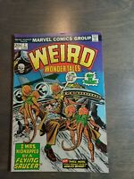 WEIRD WONDER TALES #2 (2/74 MARVEL) GIL KANE MIKE ESPOSITO COVER VF-FN