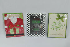Burgoyne Handcrafted Christmas Cards w/envelopes (29 Count - New - Wrapped Ind.)