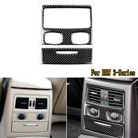 2x Carbon Fiber Rear AC Outlet Vent Trim Decoration For BMW 3-Series E90 2005-11