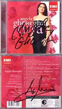 Angela Gheorghiu & Ion Marin SIGNED Diva Massenet Bizet Gounod Puccini Verdi CD