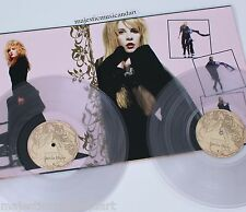 DELUXE ORIGINAL CLEAR VINYL THE BEST OF STEVIE NICKS LP MINT FLEETWOOD MAC RARE