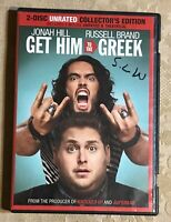 2010 Get Him To The Greek 2 Disc DVD Unrated Jonah Hill