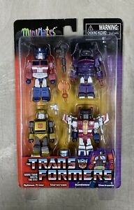 Transformers Minimates Series 1- 4 pack Optimus Prime/ Starscream/ Bumblebee