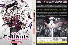 ANIME DVD~Caligula(1-12End)English subtitle&All region FREE SHIPPING+FREE GIFT