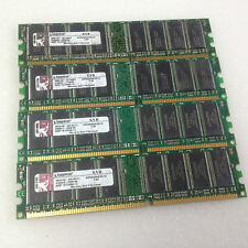 Kingston KVR400X64C3A/1G 4GB 4x1GB DDR-400 RAM CL3 PC-3200U pc fisso Memoria