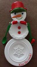"Hallmark 2013 ~  ""Kiss The Cook"" ~ Keepsake Ornament~ Plates, Spoons- New!"