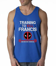 New Way 429 - Men's Tank-Top Training To Kill Francis Deadpool Workout Gym