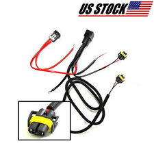 H11 880 Car Auto wiring Cable With Relay switch Connectors For Fog Lights Bulbs