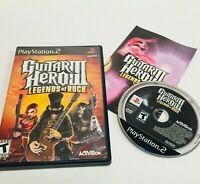 Guitar Hero III 3: Legends Of Rock PS2 Sony PlayStation 2 2007 Game Complete CIB