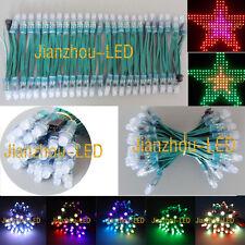 100X 12V WS2811 IC Addressable Pixels 12mm LED String Module Light Waterproof -G