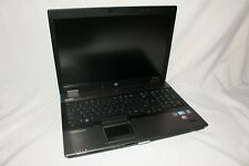 """New listing Hp EliteBook 8740w 17"""" Core i5 Laptop As Is for Parts or Repair Power no video"""