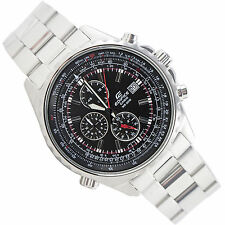 Casio Edifice Stainless Steel Band Adult Round Wristwatches