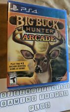 NEW BIG BUCK HUNTER ARCADE (PLAYSTATION 4 PS4) GAME MILL