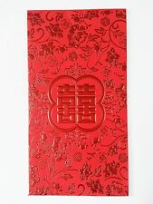 6PCS Chinese Wedding Fortune Lucky Money Red Envelope Pockets CC