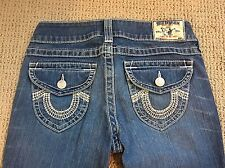 Women's True Religion Size 27 Becky Jeans Authentic RN#112790 Boot Cut