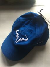 New Nike Men's Court Aerobill Rafael Nadal Blue Hat Cap 850666-408
