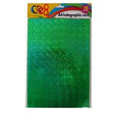 Cre8 A4 Silver Card, A4 Gold Card or A4 Holographic Card - Pack of 10 Sheets