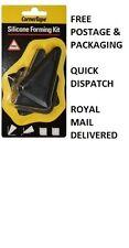 2 x 4 PEZZI in SILICONE applicazione Set Spatole FORMERS con GRATIS P&P Royal mail