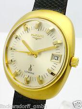 LONGINES ULTRONIC 18ct GOLD HERREN ELEKTRONIK ARMBANDUHR - ca. 1970/1980er Jahre