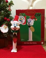 Pez Polar Bear Dispenser Christmas Ornament 50 Years Celebrate New!