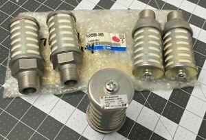 LOT OF 5 SMC NAN500-N06 Muffler Silencer 3/4'' NPT (NEW)