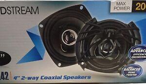 "Soundstream Arachnid AF.42 200 Watts 4"" 2-Way Coaxial Car Speakers W/ Grilles"