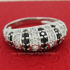 Genuine Solid 9ct White Gold Engagement Wedding Esteem Rings Simulated Diamonds