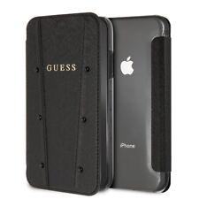 Fundas y carcasas negras GUESS para teléfonos móviles y PDAs