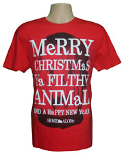 Home Alone Movie Christmas T-Shirt - Red - George