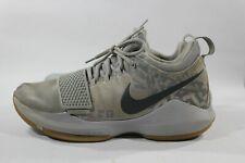 Nike Zoom Okc Pg 1 Baseline Paul George Grey Thunder 878627-009 Shoe Size 8.5