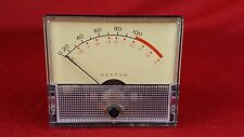 Vintage Weston 1922 VU Meter Level Indicator Atlec RCA Tube Audio 2-3/4 2-3/8