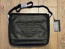 Emporio Armani Men's Messenger Bag Y4M178 YG90J In Black RRP £240
