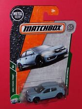 2018 Matchbox  '17 HONDA CIVIC HATCHBACK  #7 MBX Road Trip  FHG71-4B10