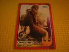 Topps Chewbacca Star Wars Trading Card Singles